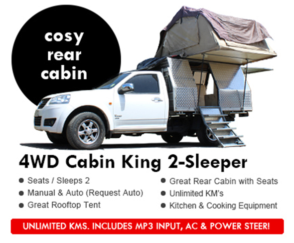 cabin king campers